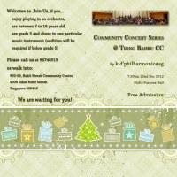 20121222 Community Concert Series